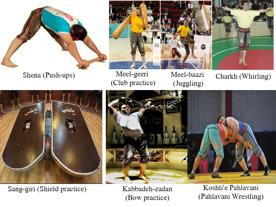 Exercises and Techniques of traditional Iranian sport