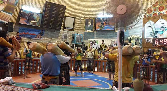 Iran traditional sport