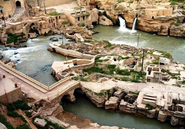 Sistema idraulico di Shushtar, Khuzestan