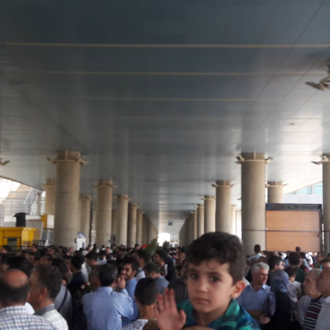 Arrivo in Iran