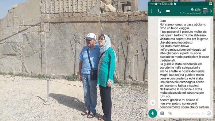 viaggio grazia Iran 2018